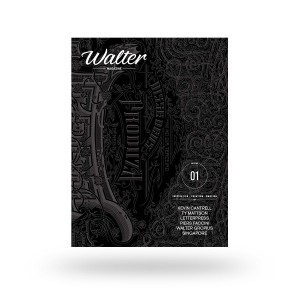 Walter is a quarterly magazine of 180 pages, 21×28 cm format. The edition is limited to 3,852 copies (1883 + 1969, dates of birth and death of Walter Gropius). Walter is an English / French bi-lingual publication. 