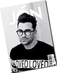 JÓN is a 270 page, independent gay men's magazine produced in London with contributors from around the globe, published in small format, in full black-and-white.  It features celebrity covers and interviews (2015 featured Breaking Bad's RJ Mitte, Kunal Nayyar from the Big Bang Theory, James Van Der Beek from Dawsons Creek, and Lance Bass from pop band *NSYNC) and is packed with fashion editorials.   Who's that guy? Meet JÓN! He can be the boy next door to the man of your dreams and everything in between. Young fresh and fun, JÓN aims to excite the imagination and inspire its readers.     Each issue the editors ask a handful of talented creatives from around the world to each make a story for JÓN – which are put together with a small selection of interviews and short articles, to produce the final issue for only the most special of magazine consumers.  JÓN is a quarterly publication to treasure and tote around town.
