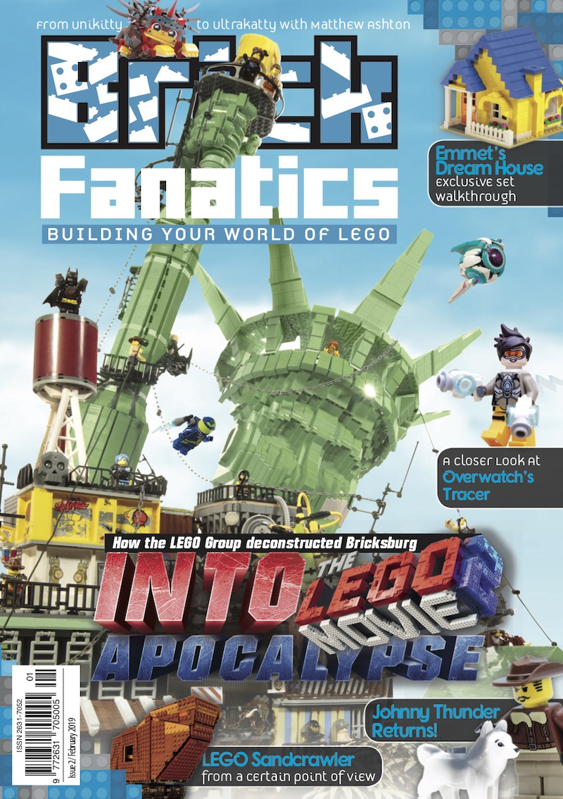 Brick Fanatics Magazine is a new 80-page, A5-size print magazine all about LEGO, for fans of the brick looking to build upon their hobby in any way they want to. Packed with brick-based content, from tailored sections to one-off features, Brick Fanatics Magazine is carefully designed to give the reader an immersive and comprehensive LEGO experience each and every issue.