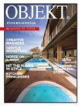 OBJEKT©International is the authoritative and bespoke title for the upscale urban modernist with a passion for interiors, art & antiques, modern design and outstanding architecture. The magazine was first published in Dutch in 1991. The English edition was released in 1999, OBJEKT©Asia | China followed in 2015 and in 2016 OBJEKT©USA | Canada joined the team, each publishing their own edition.