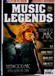 Music Legends features a great range of articles featuring new insights into the biggest names in the history of rock music. Sure, the music is powerful, but so too are the tales of the darker underside of fame and fortune; the booze, the fights, artistic differences, the drugs, the splits, the lawsuits, the politics and so much more. Each issue of Music Legends carries a quality covermounted CD featuring music and interviews with a different leading artist.