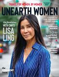 Unearth Women is the first women's travel magazine on the international market. Each issue combines women's travel content, profiles of inspiring women, and a look at women's issues around the world that are often left underreported. Unearth Women is created by women, for women.