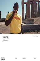 ruins is a bi-annual fashion magazine published in London with global appeal.  Created by the editors of 'Vinyl Riot' magazine (which was referred to as 'one of the world's best independent fashion magazines' by the 'New York Magazine'), it is a poignant and thoughtful statement on the changing fashion landscape.